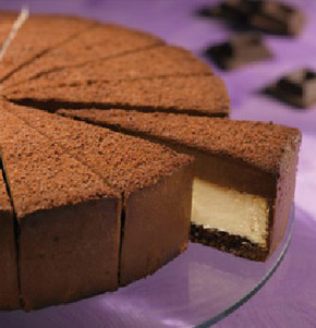Cheesecake with sponge cake crust recipe
